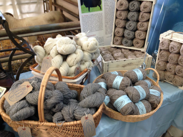Image of rare breeds wool and yarns