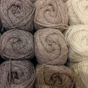 Whitefaced Woodland DK Balls 50g in smoke, caramel or natural